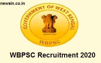 WBPSC Recruitment 2020-50 Vacancy