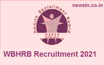WBHRB Recruitment 2021-1647 Vacancy
